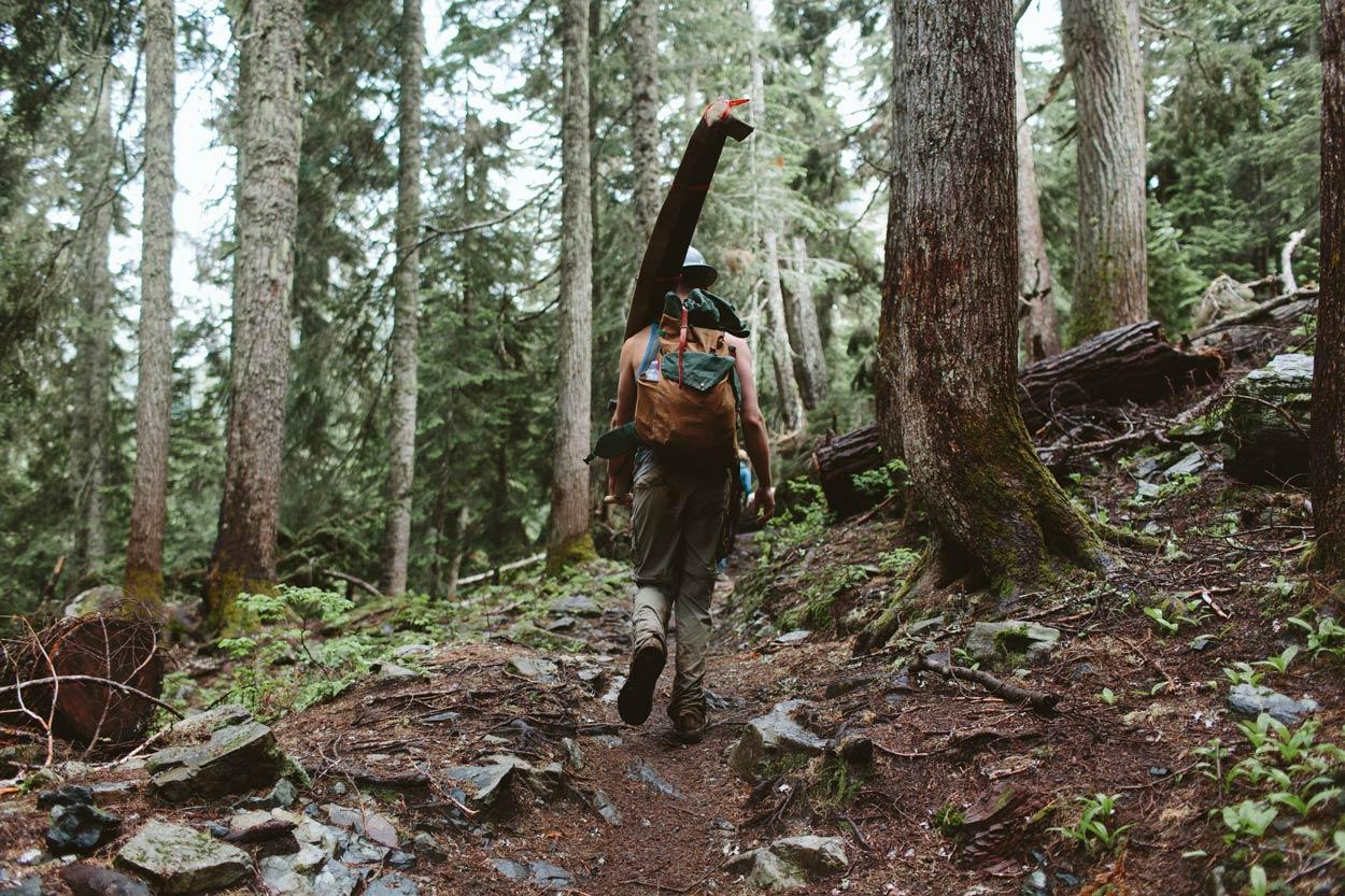 Uphill Designs founder Dan Sedlacek back on the PCT