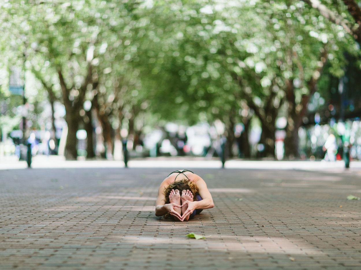 Seated forward fold pose yoga asana