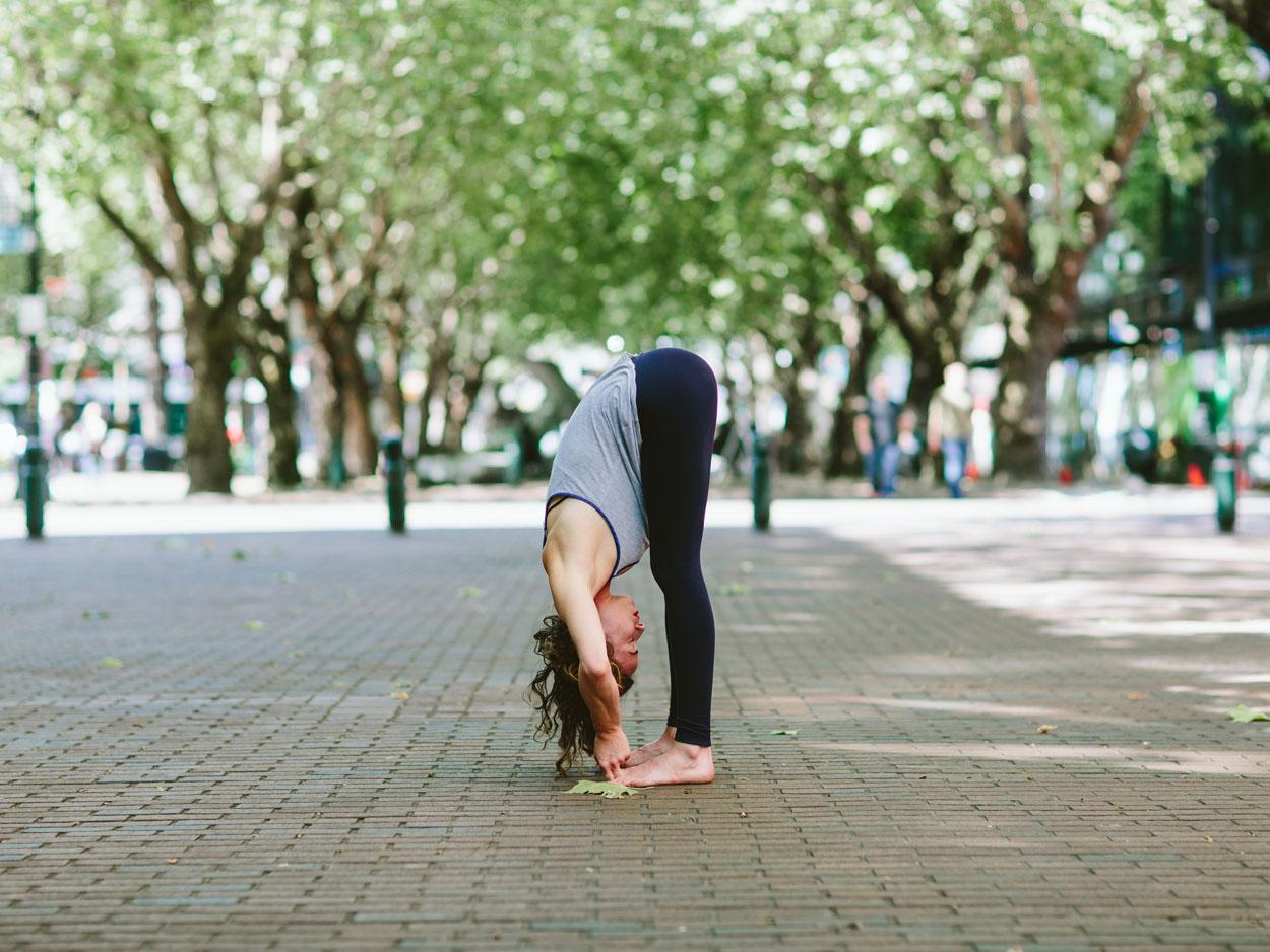 Big toe pose, yoga asana