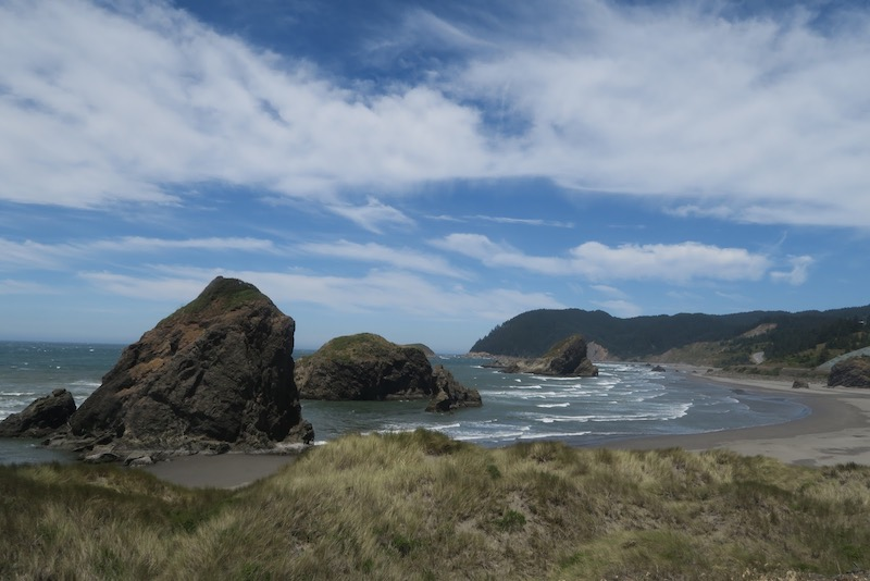 Pacific Coast Bike Route Oregon