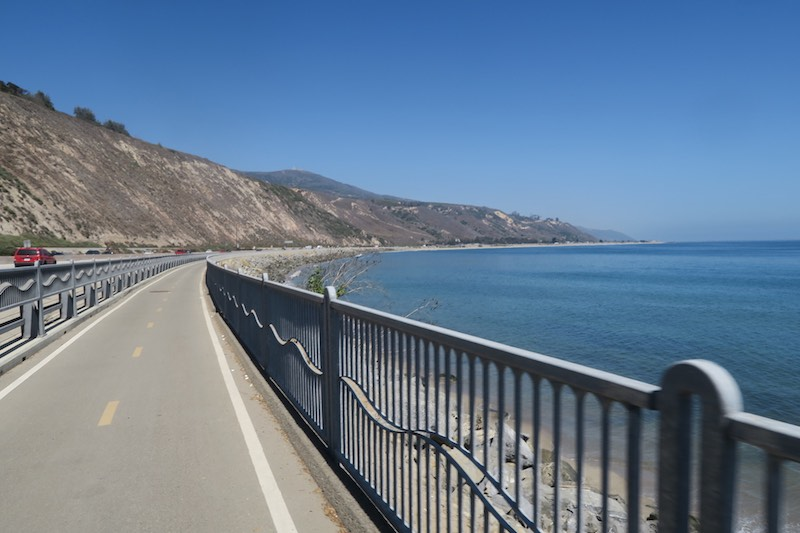 Santa Barbara to Santa Monica Bike Path