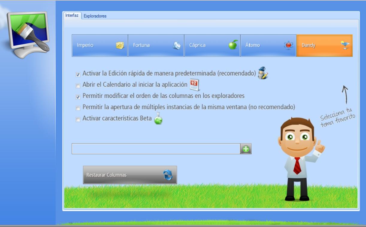 Interfaz UI ERP