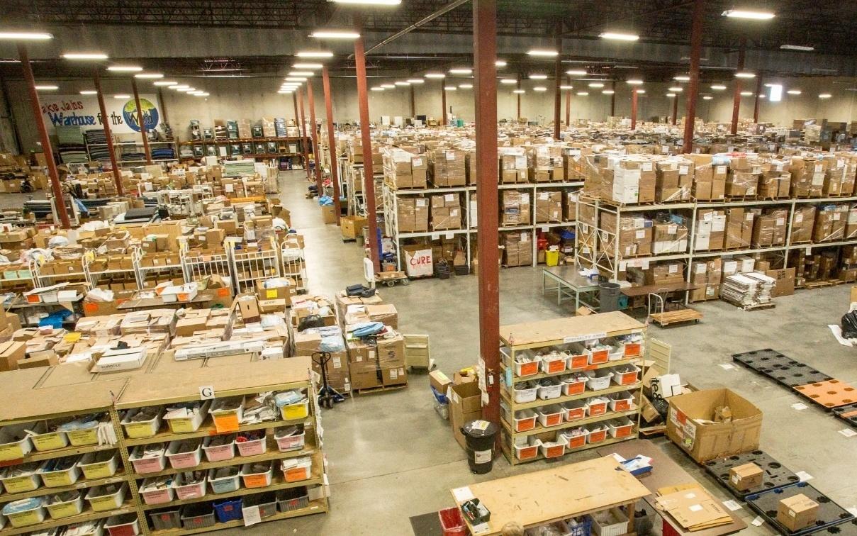 Deposito productos y stock