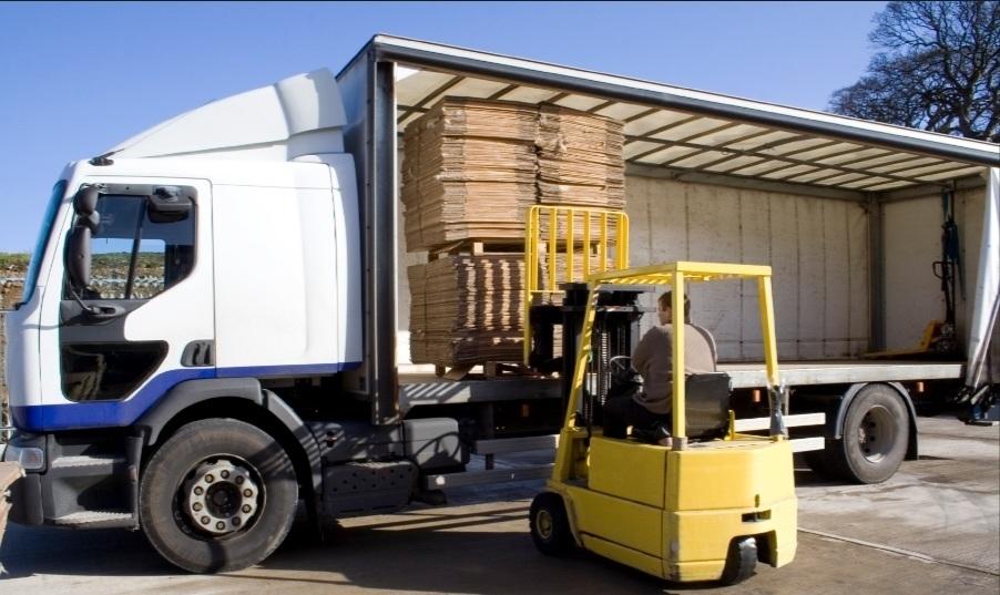 Transporte de stock y productos