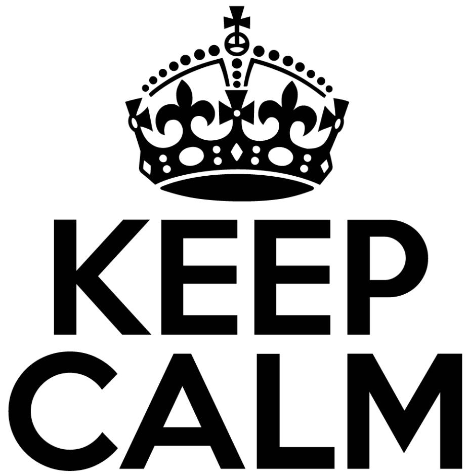 Mantén siempre la calma