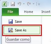 Abre el programa Excel y crea una planilla nueva