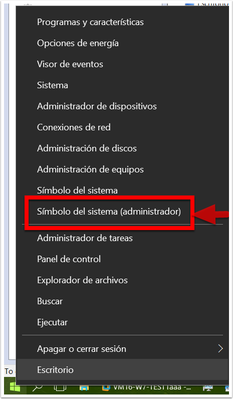 CMD en Windows 10
