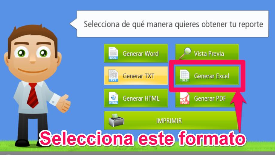 Generar Excel