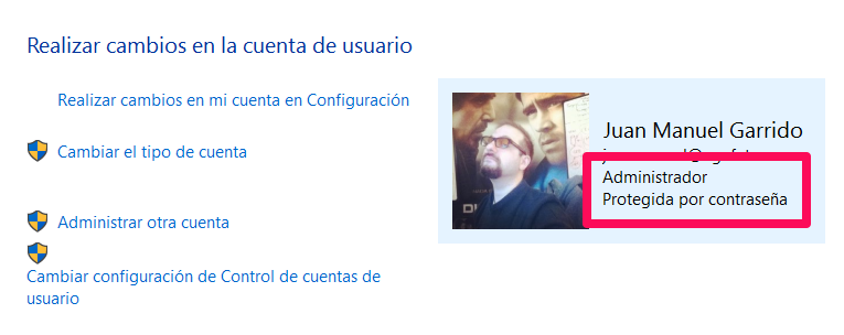 Verifica si eres un administrador de Windows