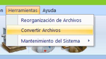 Convertir archivos