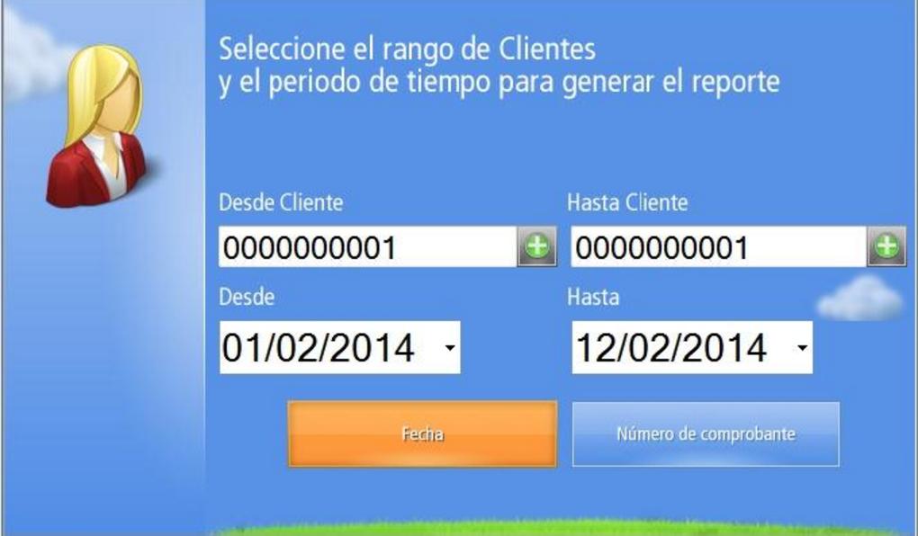 Generar el reporte de Movimiento de Cuenta Corriente de Clientes