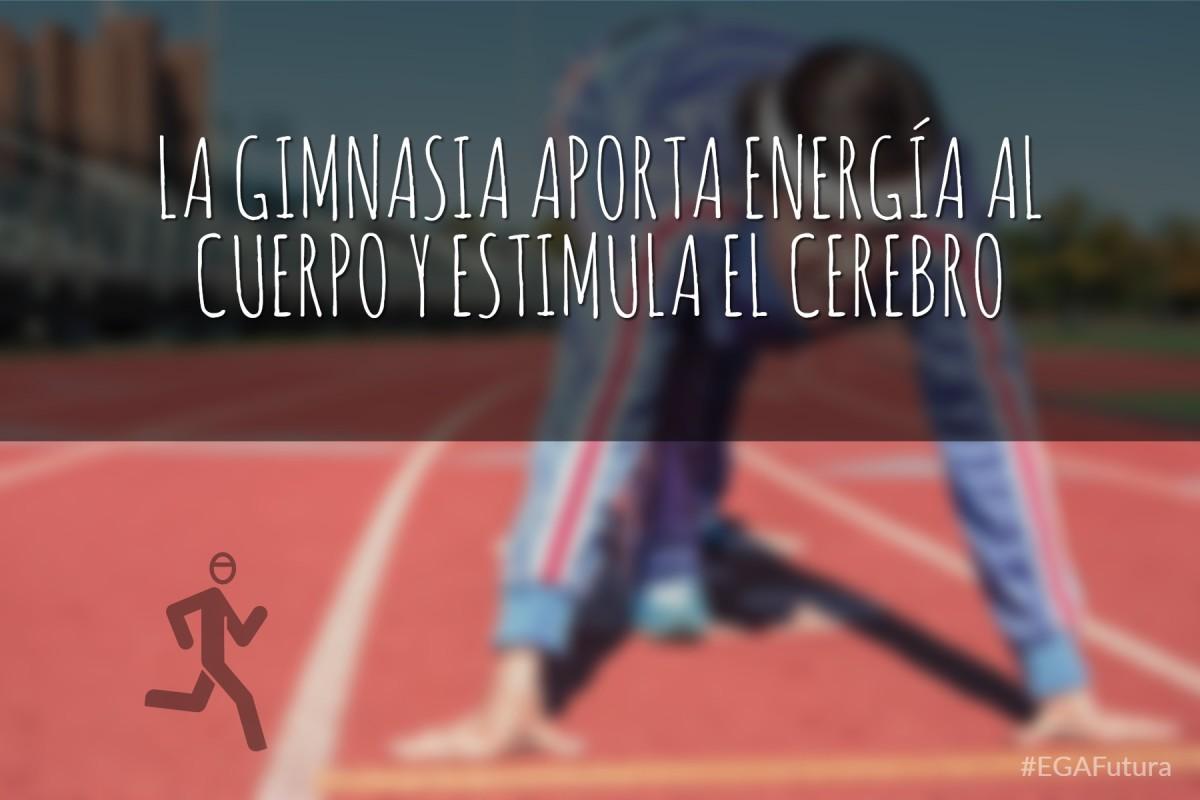 la gimnasia aporta energía al cuerpo y estimula el cerebro