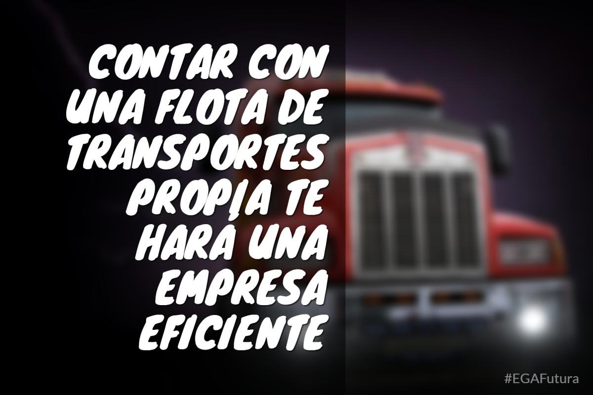 Contar con una flota de transporte propia te hará una empresa más eficiente