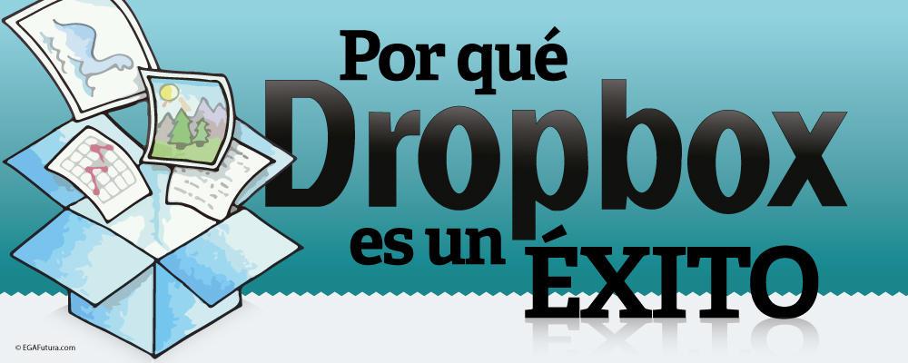 Por qué Dropbox es un Éxito