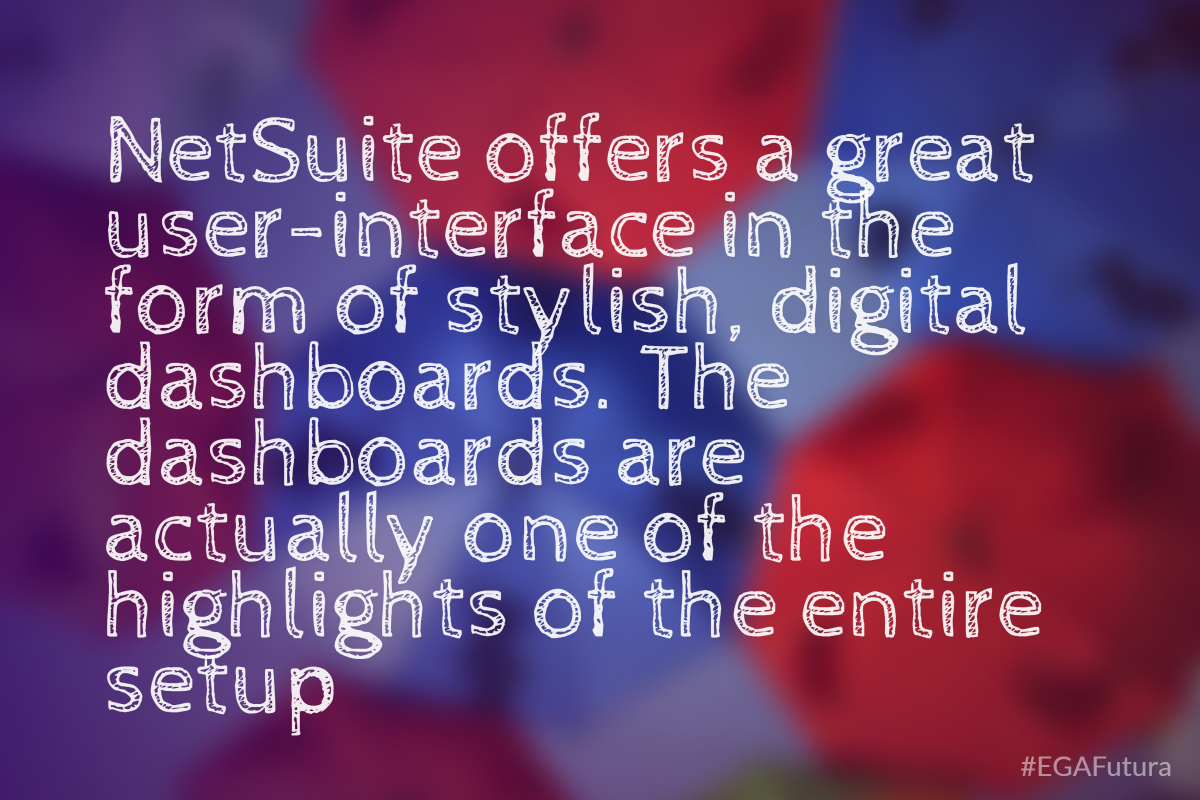 offers a great user-interface in the form of stylish, digital dashboards. The dashboards are actually one of the highlights of the entire setup
