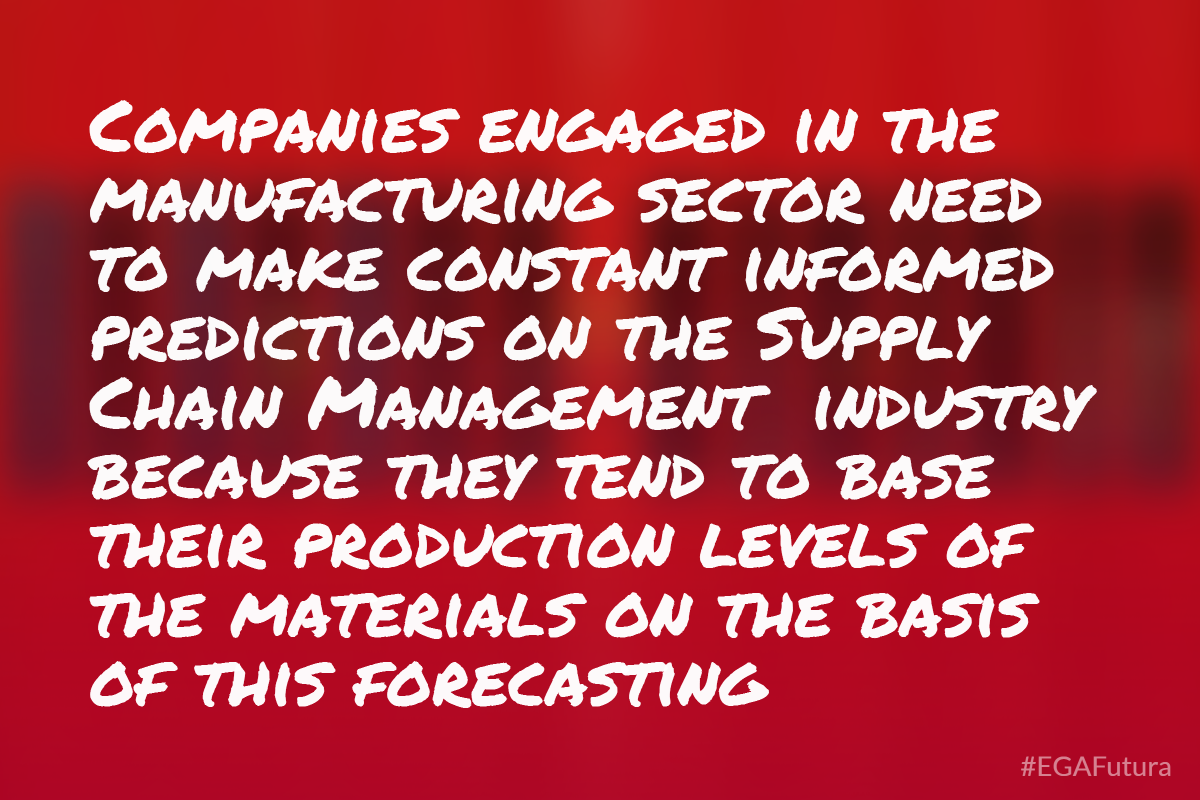Companies engaged in the manufacturing sector need to make constant informed predictions on the SCM industry because they tend to base their production levels of the materials on the basis of this forecasting.