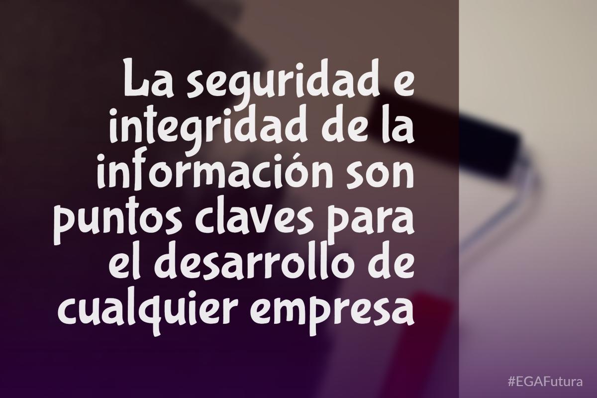 La seguridad e integridad de la información son puntos claves para el desarrollo de cualquier empresa