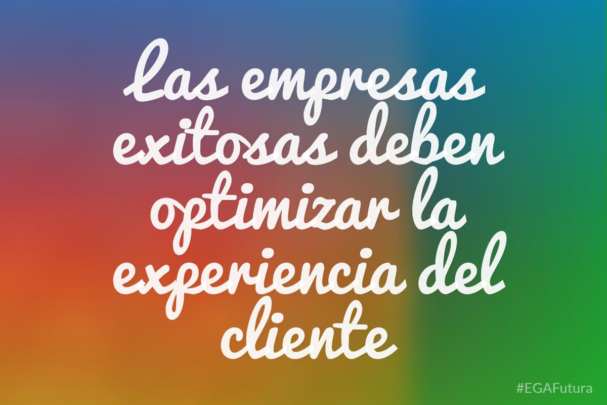 Las empresas exitosas deben optimizar la experiencia del cliente
