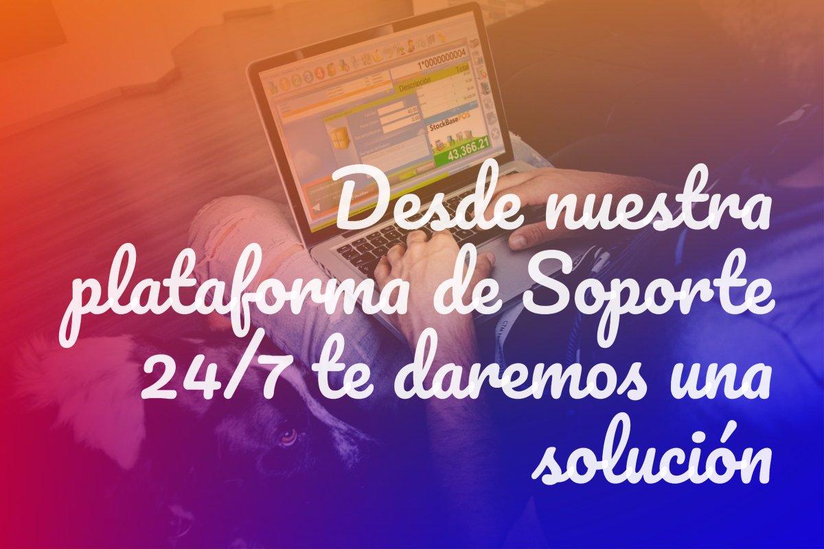 Desde nuestra plataforma de Soporte 24/7 te daremos una solución