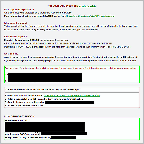 TeslaCrypt 3 1? New Ransomware Strain Removes ShadowCopies via WMI