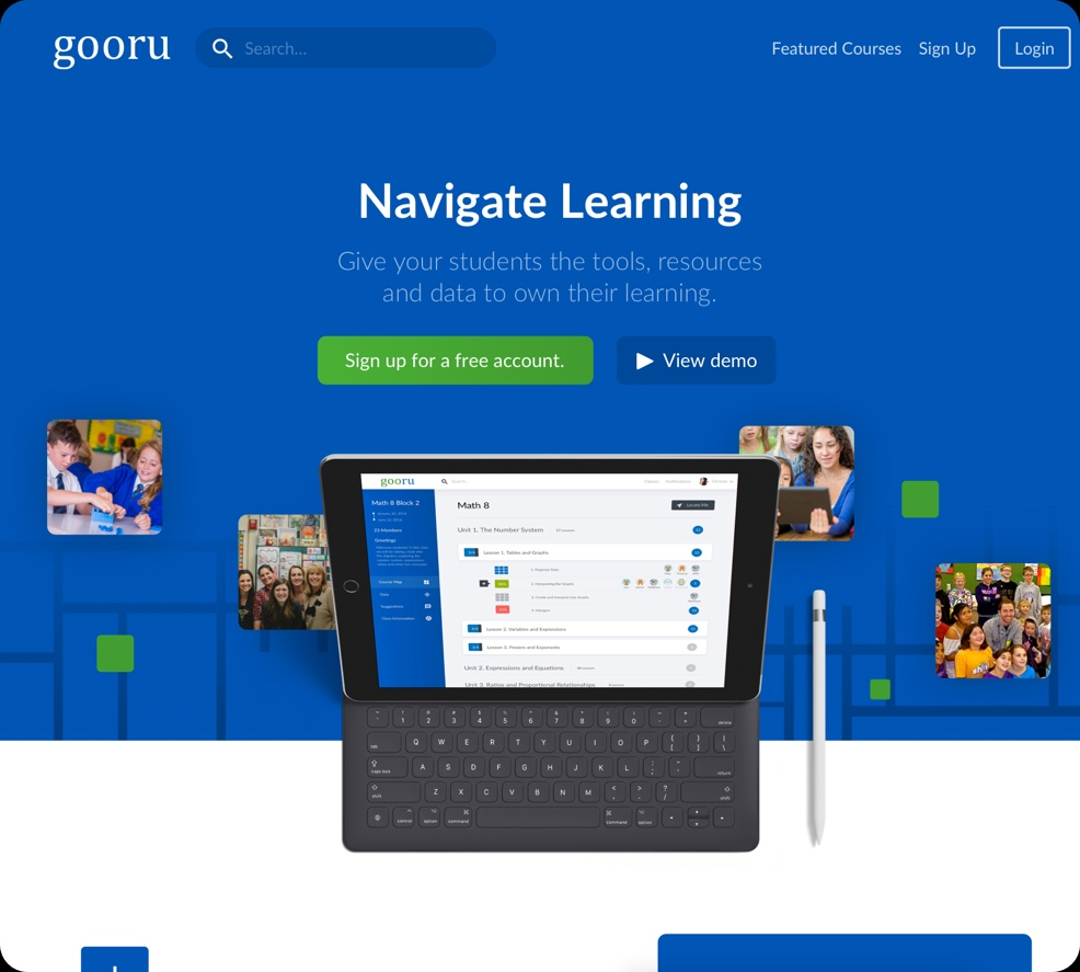 Gooru is a ed-tech NGO that has has many different moving pieces.