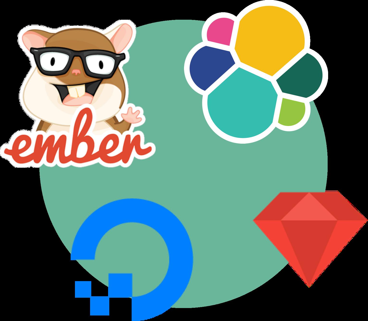 Ember, Ruby on Rails, ElasticSearch and Digital Ocean