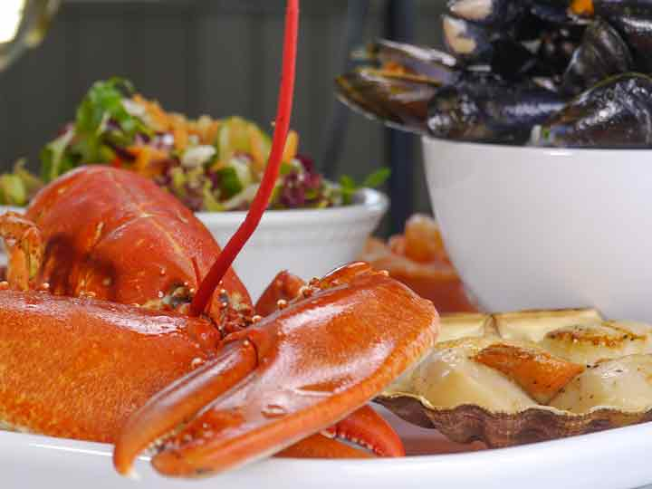 The Pierhouse Hotel & Seafood Restaurant: the freshest of local produce