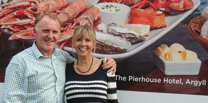 Nick & Nikki Horne of The Pierhouse Hotel