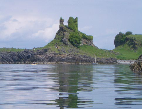 Castle Coeffin on the Isle of Lismore