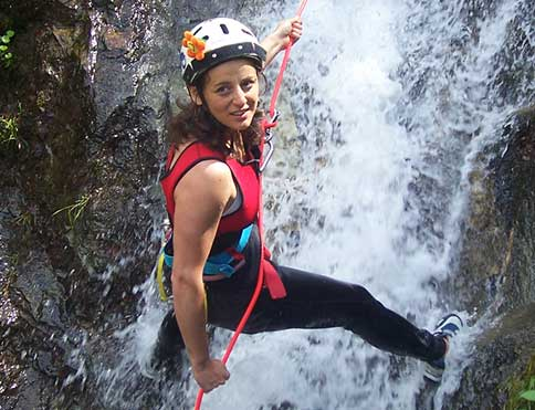 Canyoning and white water rafting within easy reach of The Pierhouse Hotel