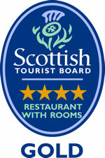 Visit Scotland 4 Star Restaurant with Rooms Gold Award