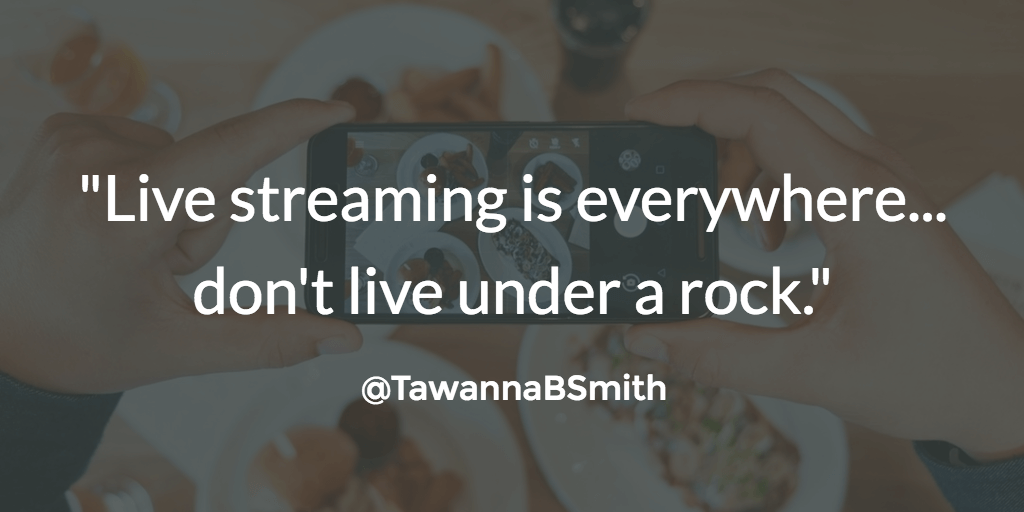 live streaming quote
