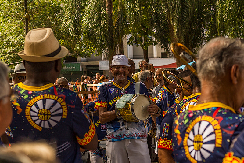 One of the most traditional street bands of Rio de Janeiro's Carnival - Ipanema Band