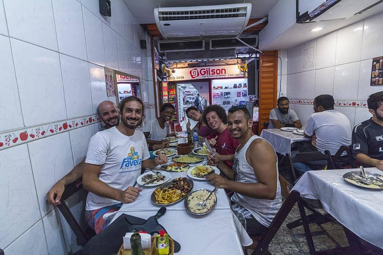 favela experience rocinha tour restaurant lunch rio de janeiro