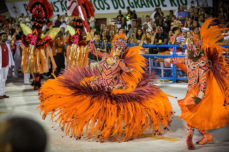 carnaval rio de janeiro desfile escola de samba grande rio