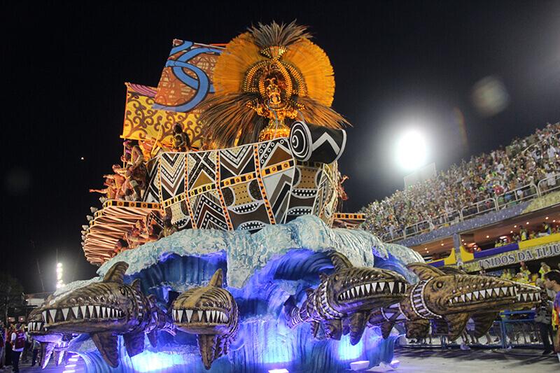 rio de janeiro carnaval desfile carro alegorico unidos vila isabel