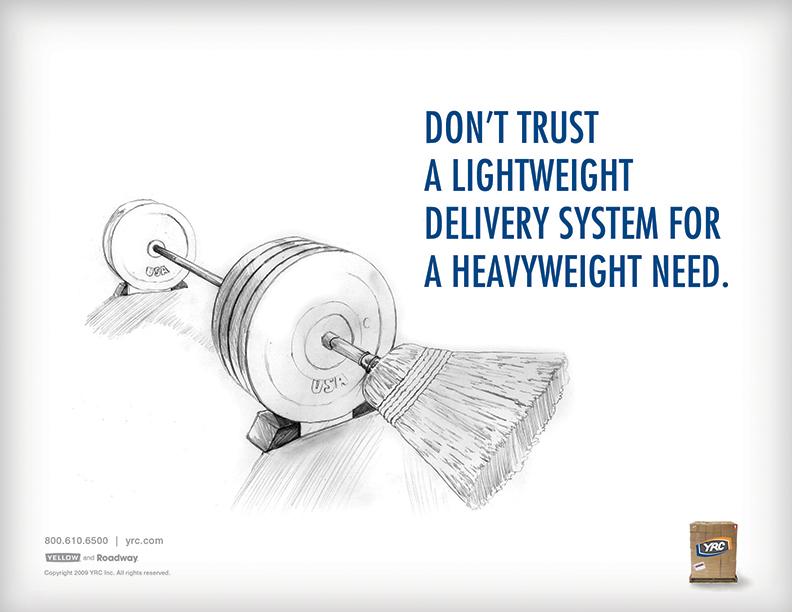 YRC advertisement