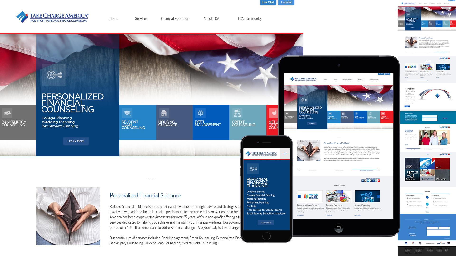 Responsive design, UX design, Information Architecture, brand identity