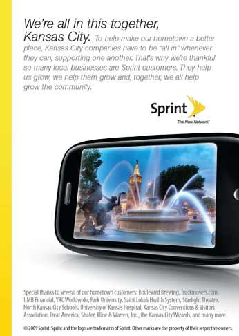 Sprint KCBJ advertisement