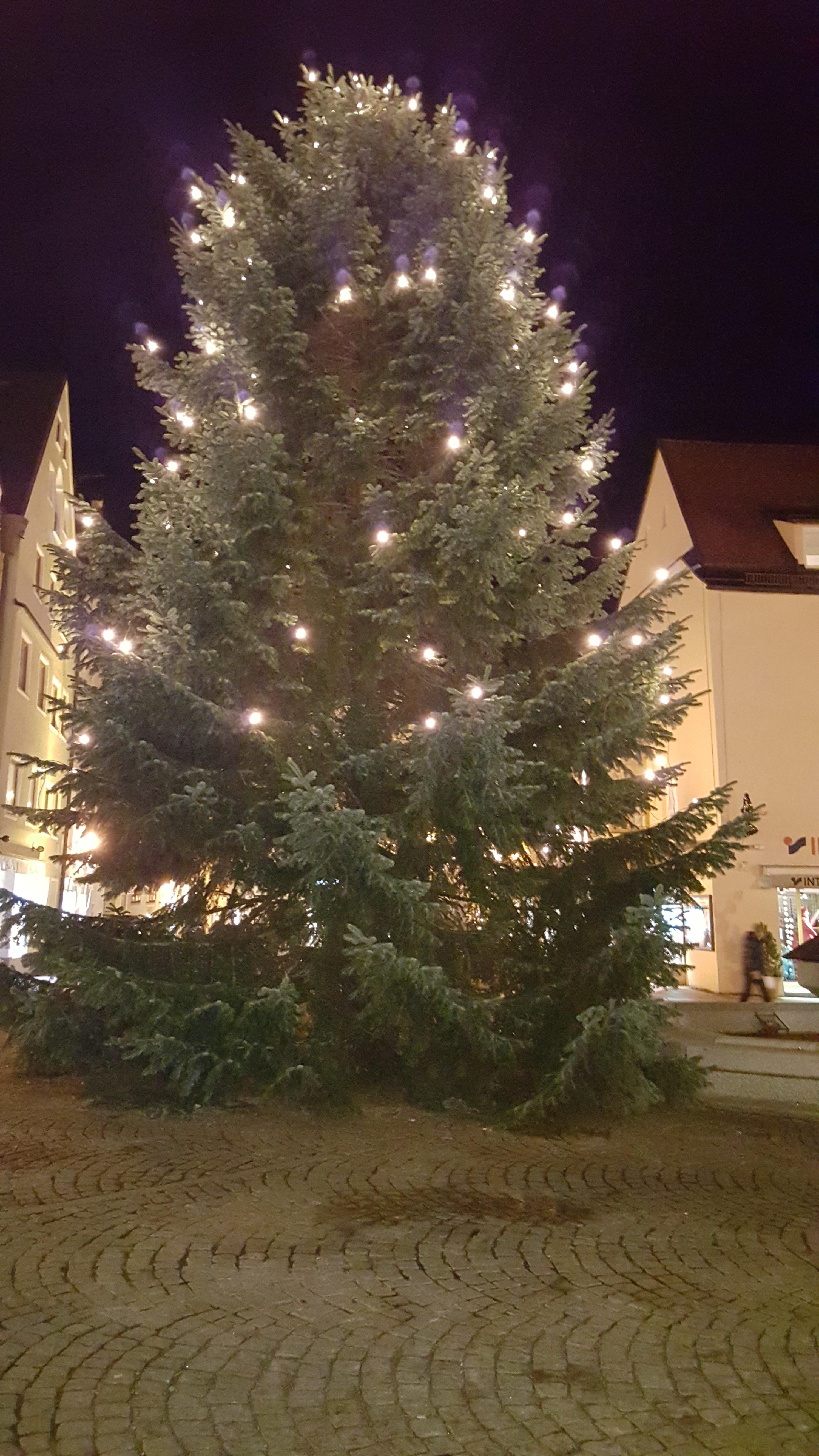 Christmas Tree in Füssen