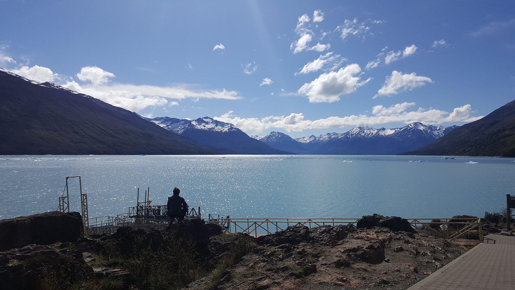 View near Perito Moreno glacier