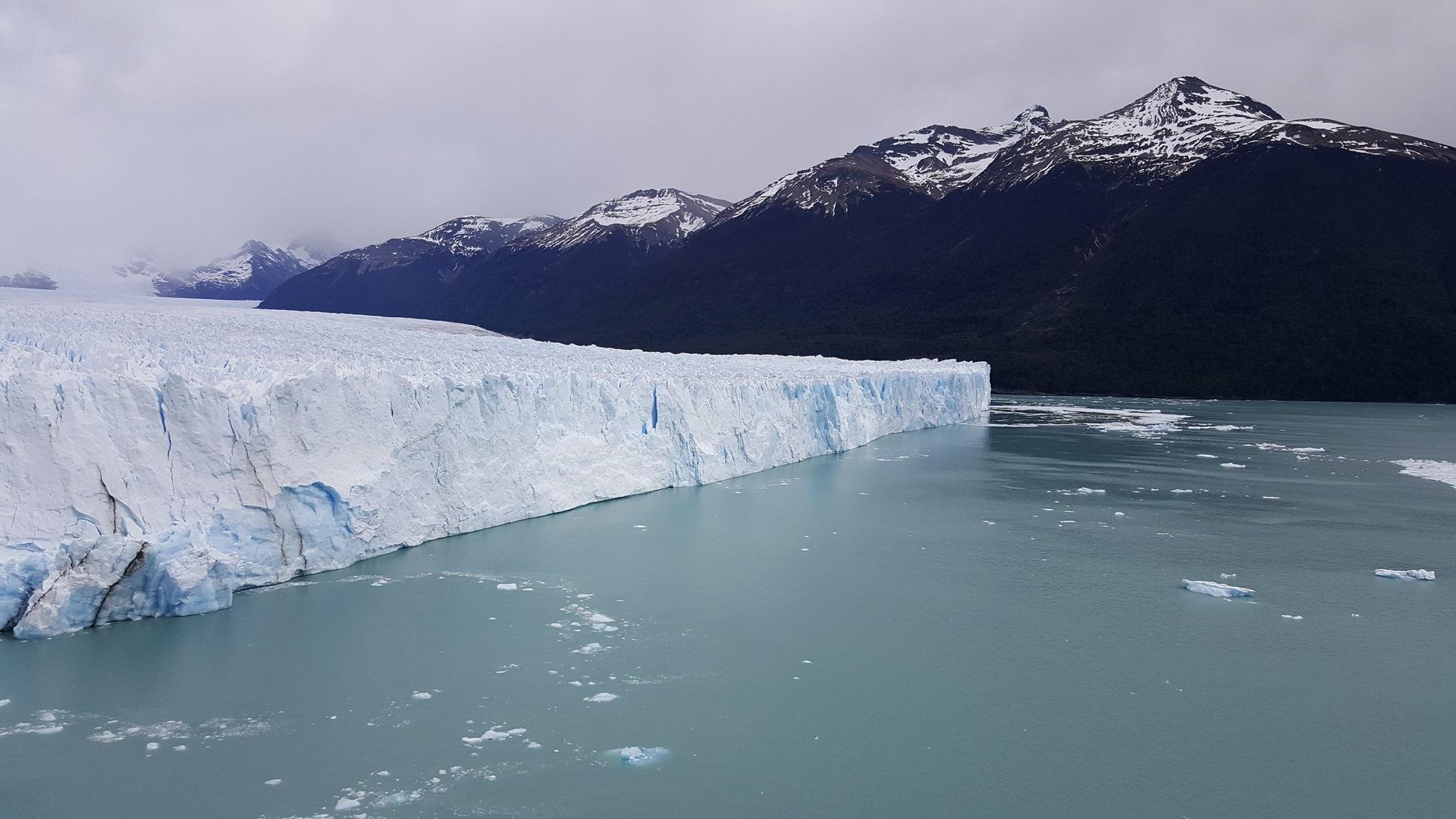 Southern side of Perito Moreno glacier