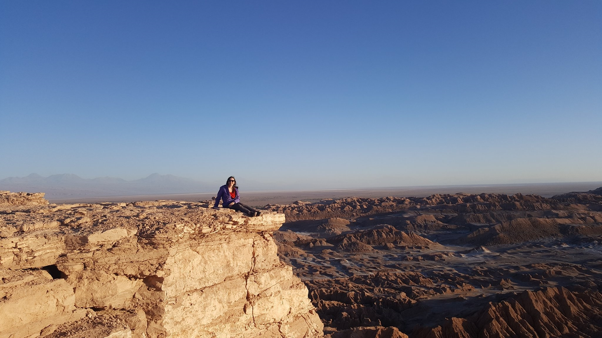 Cazzy in Atacama desert