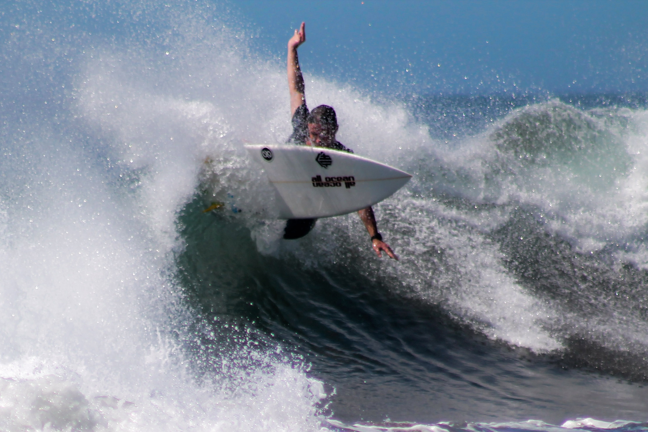 Surfing with type 1 diabetes at Closeout Hack Final