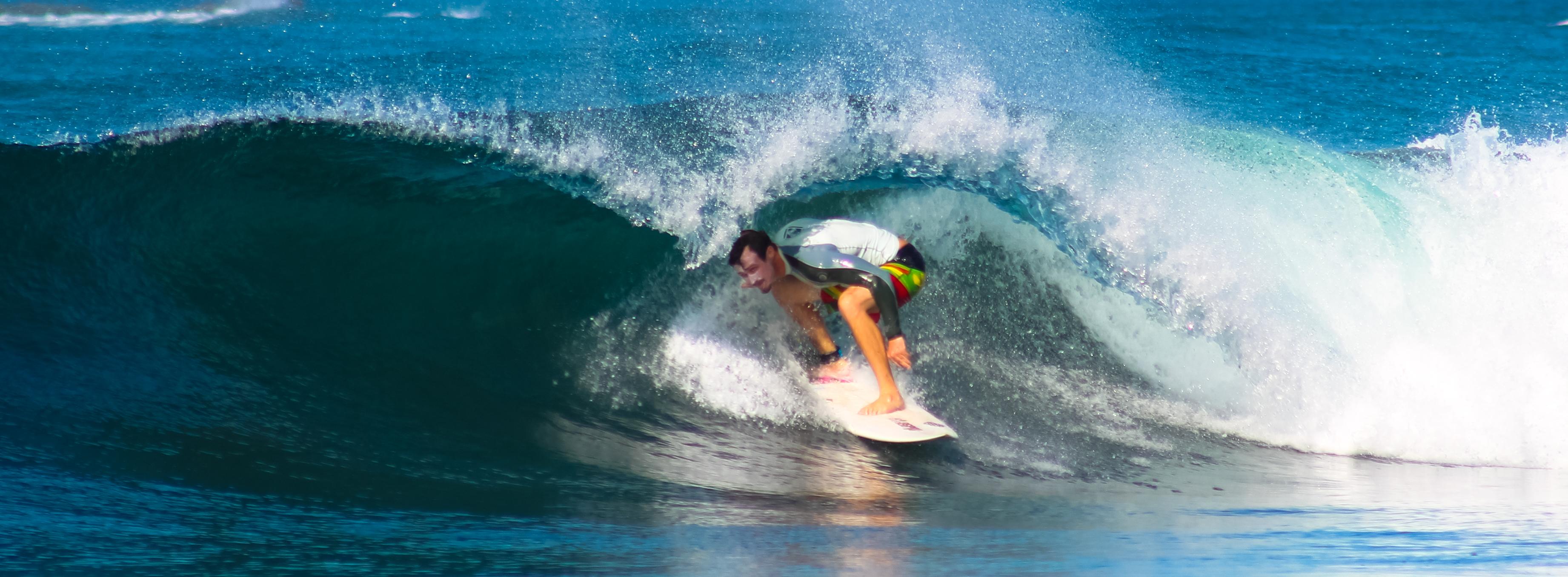 diabetic surfing Marbella Gem Barrel