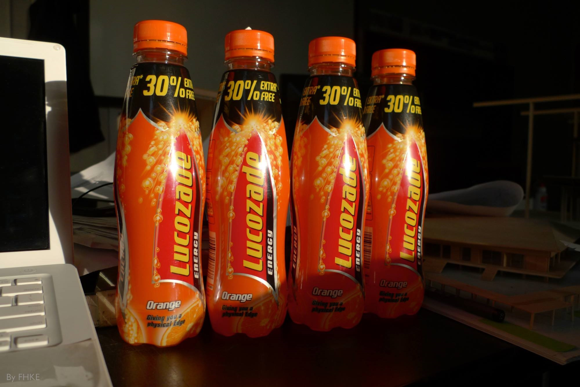Lucozade for a diabetic hypo