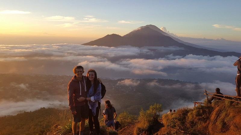 Mount batu in Ubud, Bali