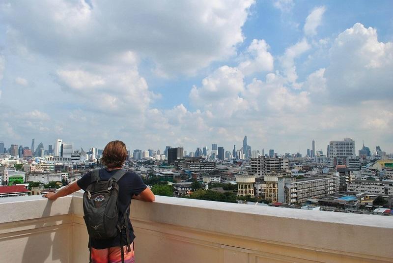 Skyline view of Bangkok