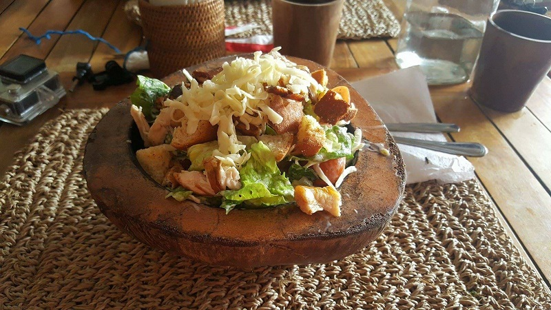 Salads in Bali