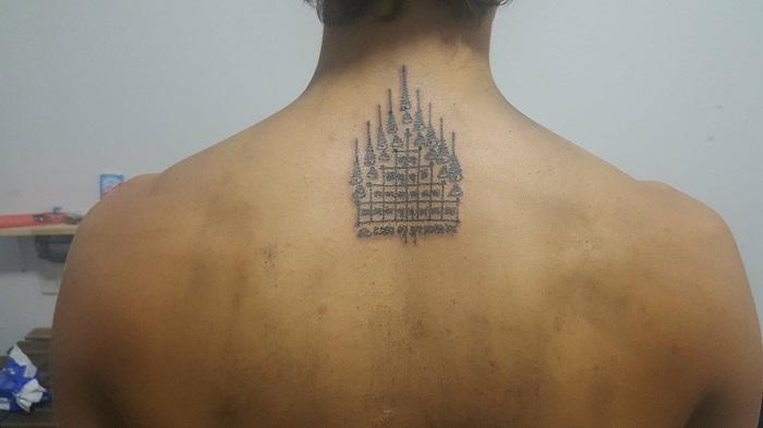My Sak Yant Tattoo